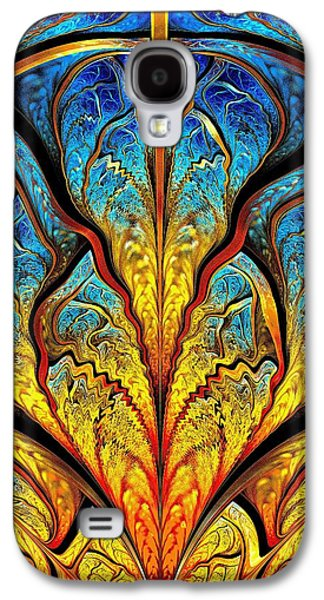 Recently Sold -  - Digital Galaxy S4 Cases - Stained Glass Expression Galaxy S4 Case by Anastasiya Malakhova