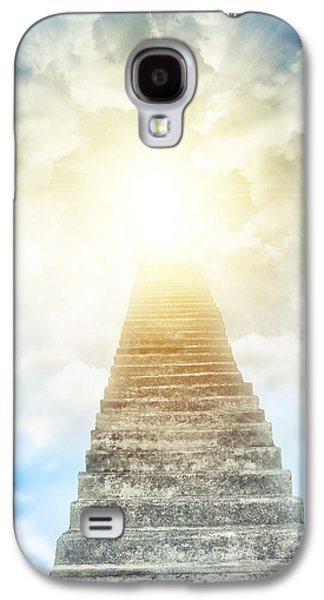 Future Photographs Galaxy S4 Cases - Stairway to heaven Galaxy S4 Case by Les Cunliffe