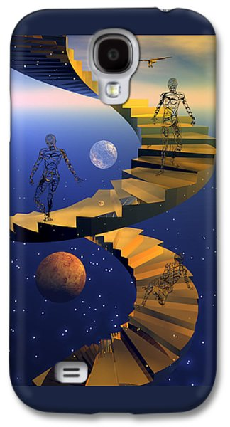 Stairway To Imagination Galaxy S4 Case by Claude McCoy
