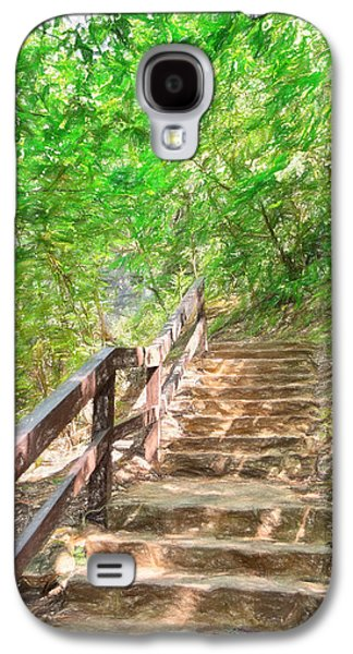 Contemplative Photographs Galaxy S4 Cases - Stairway to Paradise Galaxy S4 Case by John Bailey