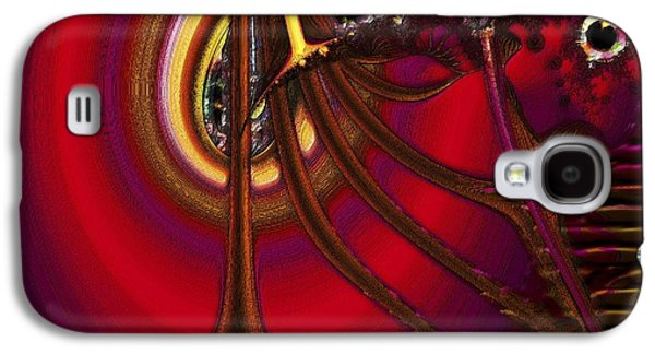 Art166 Galaxy S4 Cases - Stalker Galaxy S4 Case by Wendy J St Christopher