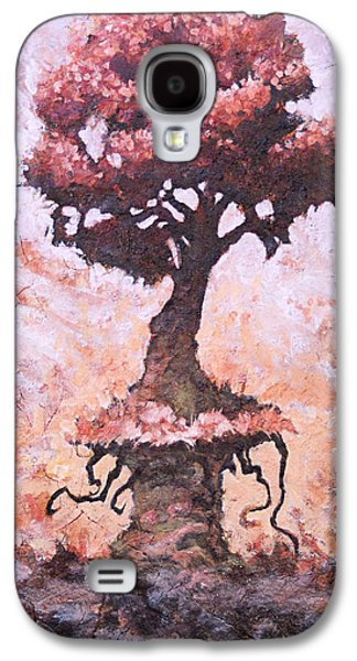 Tree Roots Mixed Media Galaxy S4 Cases - Stalwart Galaxy S4 Case by Ethan Harris