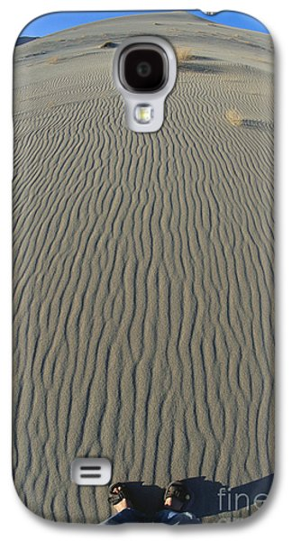 Self Discovery Galaxy S4 Cases - Stand Here Galaxy S4 Case by Chris Selby