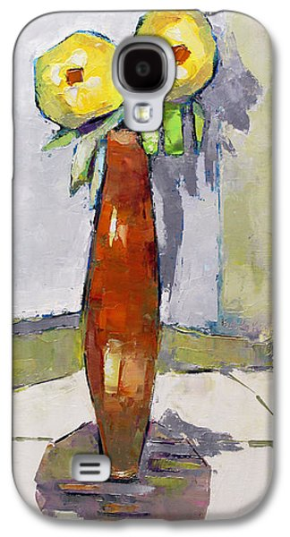 Becky Kim Paintings Galaxy S4 Cases - Standing Astride Galaxy S4 Case by Becky Kim