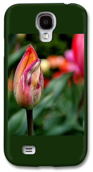 Floral Art Galaxy S4 Cases - Standout Galaxy S4 Case by Rona Black
