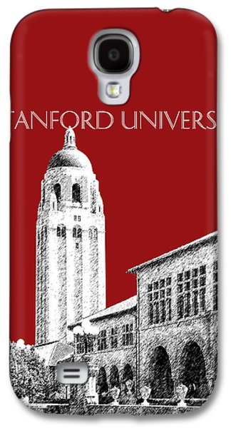 Universities Digital Art Galaxy S4 Cases - Stanford University - Dark Red Galaxy S4 Case by DB Artist