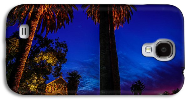 Quad Galaxy S4 Cases - Stanford University Memorial Church at Sunset Galaxy S4 Case by Scott McGuire