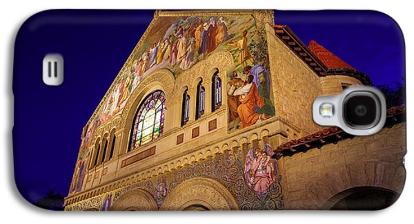Quad Galaxy S4 Cases - Stanford University Memorial Church Galaxy S4 Case by Scott McGuire