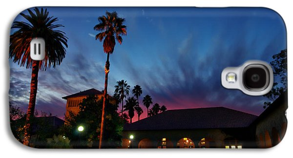 Quad Galaxy S4 Cases - Stanford University Quad Sunset Galaxy S4 Case by Scott McGuire