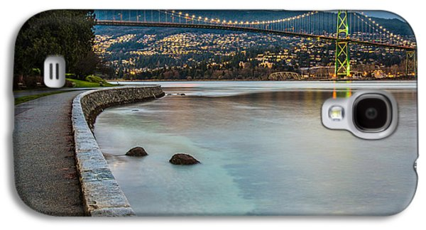 Burrard Inlet Galaxy S4 Cases - Stanley Park Seawall View Galaxy S4 Case by James Wheeler
