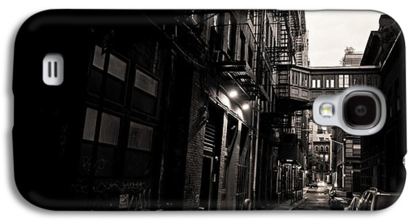 Urban Street Galaxy S4 Cases - Staple Street - Tribeca - New York City Galaxy S4 Case by Vivienne Gucwa