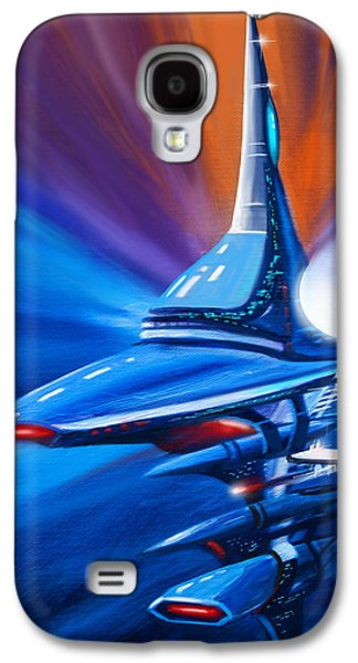 Stellar Paintings Galaxy S4 Cases - Star Drive Galaxy S4 Case by James Christopher Hill