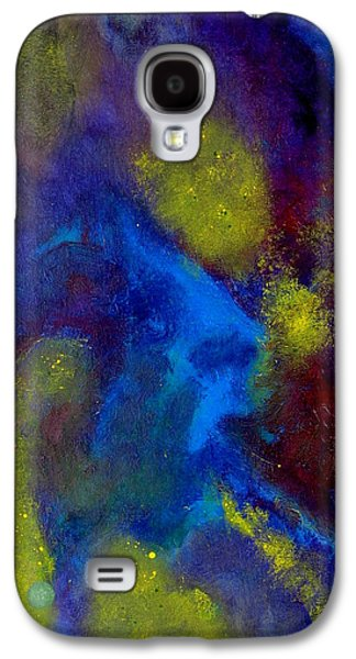 Constellations Paintings Galaxy S4 Cases - Star Galaxies Galaxy S4 Case by Lonnie Pelletier