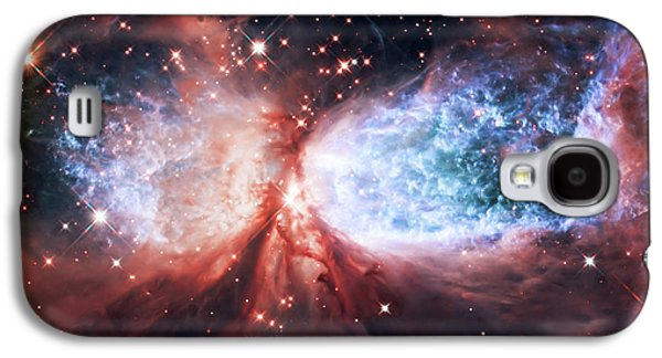 Space Art Galaxy S4 Cases - Star Gazer Galaxy S4 Case by The  Vault - Jennifer Rondinelli Reilly