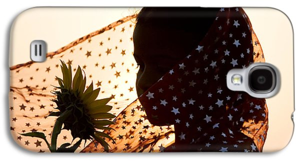 Person Galaxy S4 Cases - Star Girl  Galaxy S4 Case by Tim Gainey