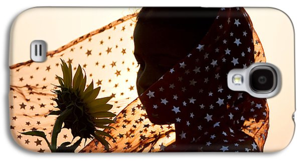 Twinkle Galaxy S4 Cases - Star Girl  Galaxy S4 Case by Tim Gainey