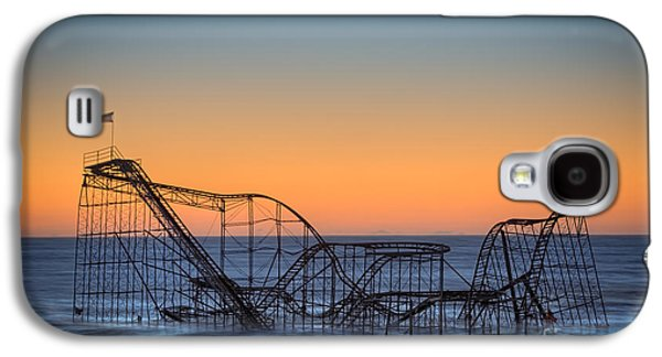 Jet Star Galaxy S4 Cases - Star Jet Roller Coaster Ride  Galaxy S4 Case by Michael Ver Sprill
