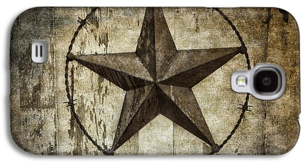 Outbuildings Galaxy S4 Cases - STAR of TEXAS Galaxy S4 Case by Daniel Hagerman