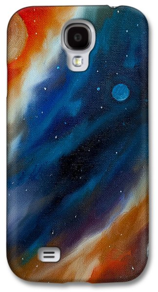 Stellar Paintings Galaxy S4 Cases - Star System 2034 Galaxy S4 Case by James Christopher Hill