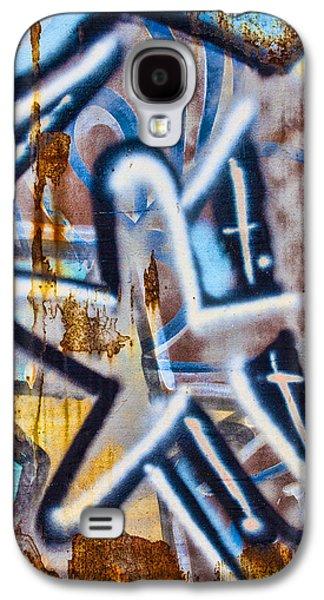Urban Art Photographs Galaxy S4 Cases - Star Train Graffiti Galaxy S4 Case by Carol Leigh