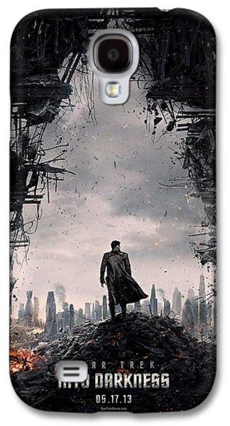 Enterprise Galaxy S4 Cases - Star Trek into Darkness  Galaxy S4 Case by Movie Poster Prints