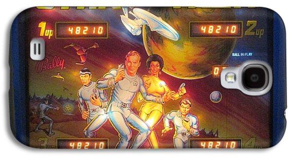 Recently Sold -  - Enterprise Galaxy S4 Cases - Star Trek Pinball Screen  Galaxy S4 Case by David Lovins