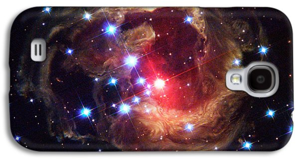 Luminous Body Galaxy S4 Cases - Star V838 Monocerotis Galaxy S4 Case by Science Source