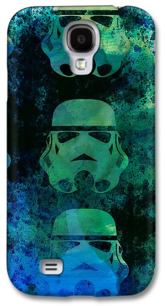 Shows Galaxy S4 Cases - Star Warriors Watercolor 1 Galaxy S4 Case by Naxart Studio