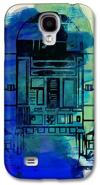Tv Galaxy S4 Cases - Star Warriors Watercolor 4 Galaxy S4 Case by Naxart Studio