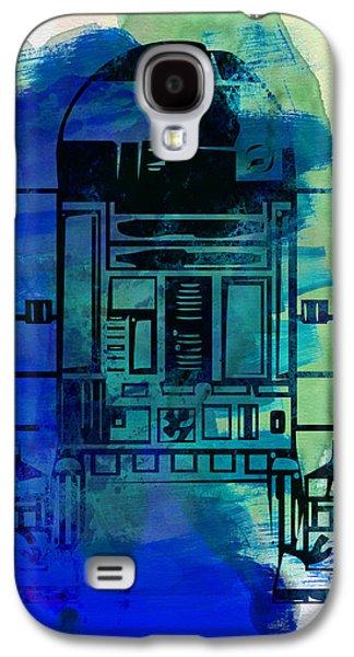 Star Warriors Watercolor 4 Galaxy S4 Case by Naxart Studio