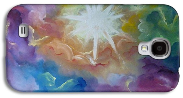 Angel Mermaids Ocean Galaxy S4 Cases - Starburst Galaxy S4 Case by Samira Butt