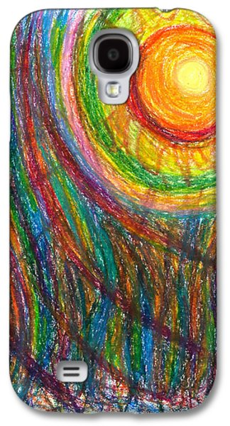 Daina White Galaxy S4 Cases - Starburst - The Nebular Dawning of a New Myth and a New Age Galaxy S4 Case by Daina White
