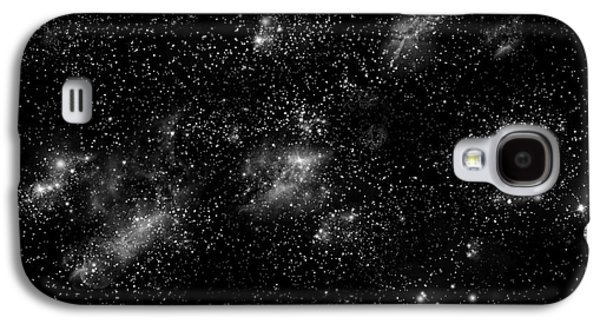 Jet Star Mixed Media Galaxy S4 Cases - Starfield No.10414 Galaxy S4 Case by Marc Ward
