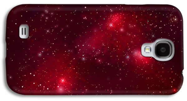 Jet Star Galaxy S4 Cases - Starfield No.122912b Galaxy S4 Case by Marc Ward