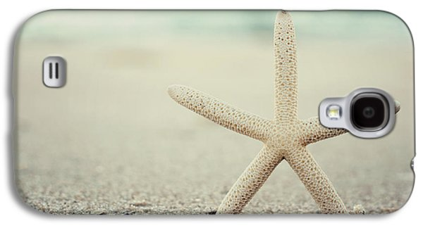 Starfish On Beach Vintage Seaside New Jersey  Galaxy S4 Case by Terry DeLuco