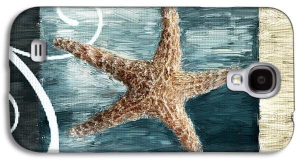 Vacation Digital Art Galaxy S4 Cases - Starfish Spell Galaxy S4 Case by Lourry Legarde
