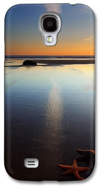 Starfish Sunset Galaxy S4 Case by Mike  Dawson