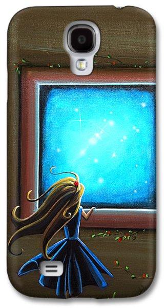 Dreamscape Galaxy S4 Cases - Stargazer Galaxy S4 Case by Cindy Thornton