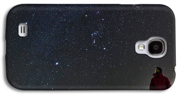 Stargazing In Dasht-e Kavir Galaxy S4 Case by Babak Tafreshi