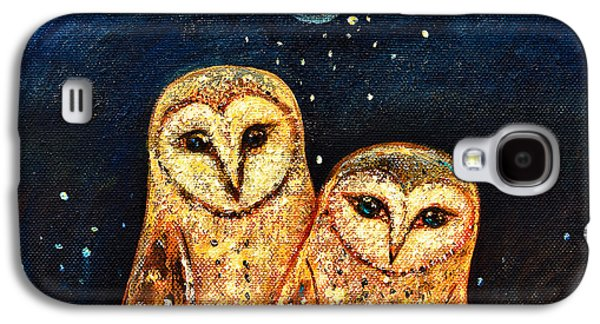 Starlight Owls Galaxy S4 Case by Shijun Munns