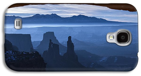 Southern Utah Galaxy S4 Cases - Starlit Mesa  Galaxy S4 Case by Dustin  LeFevre