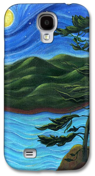 Catherine White Paintings Galaxy S4 Cases - Starry Night at Algonquin Park Galaxy S4 Case by Catherine Howard