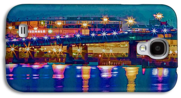 Starry Night At Nationals Park Galaxy S4 Case by Jerry Gammon