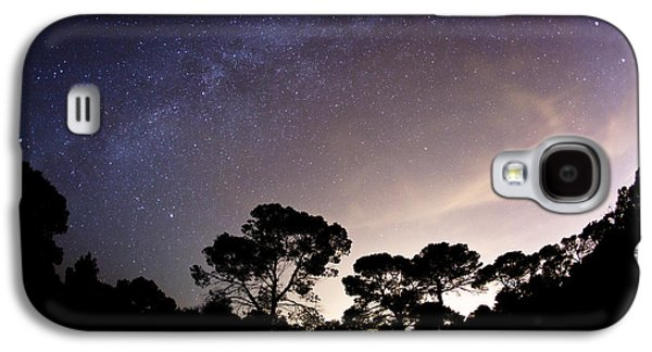 Wandering Star Galaxy S4 Cases - Starry Nights Galaxy S4 Case by Emilio Lopez