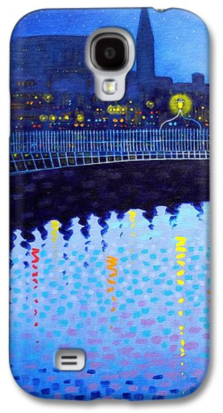 Starry Night In Dublin Vi Galaxy S4 Case by John  Nolan