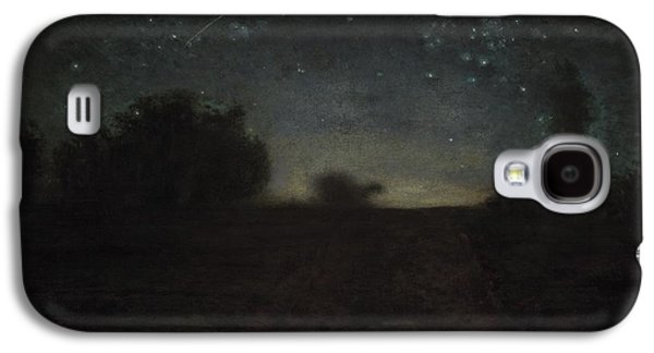 Constellations Galaxy S4 Cases - Starry Night Galaxy S4 Case by Jean-Francois Millet