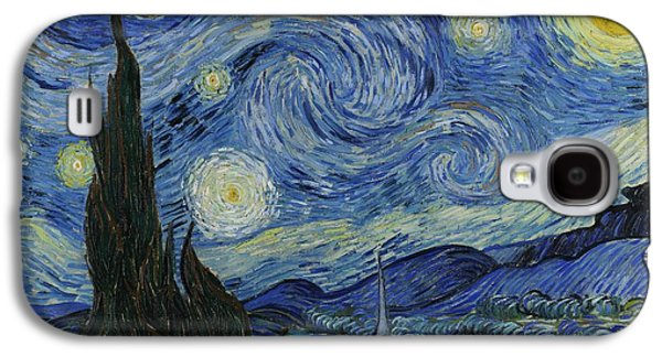 Starry Night Galaxy S4 Case by Masterpieces Of Art