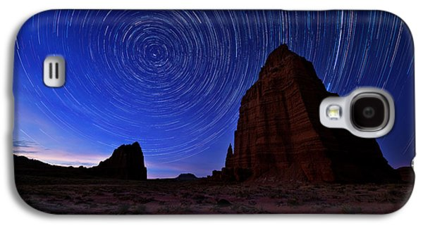 Sun Galaxy S4 Cases - Stars Above the Moon Galaxy S4 Case by Chad Dutson