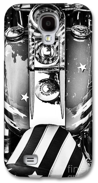 Airbrush Galaxy S4 Cases - Stars and Stripes HD Galaxy S4 Case by Tim Gainey