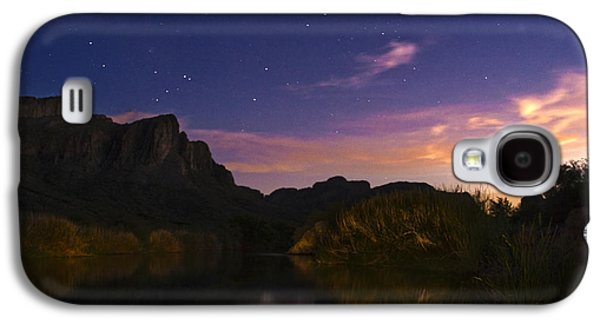 Quiet Time Photographs Galaxy S4 Cases - Stars over the Salt River at sunset Galaxy S4 Case by Dave Dilli
